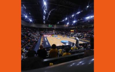 Basketballspiel der MHP RIESEN