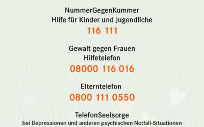– Neues Hilfsportal für Kinder –