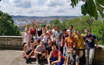 Stuttgarter & Freunde bringen im Juli 2017 Farbe ins Kinderheim