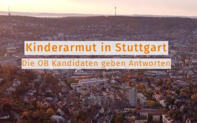 Kinderarmut in Stuttgart | Die OB-Kandidaten geben Antworten